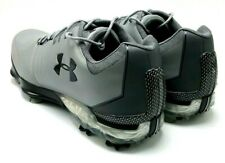 Under Armour Tiger Match Play Golf Shoes 3019893-106 Steel Gray Men's Size 9,5