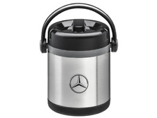Mercedes Benz Thermal Insulated Bottle 1 Litres Steel Double-Walled Silver