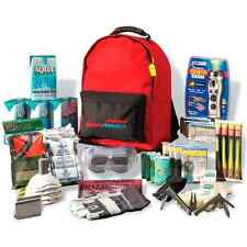 Emergency Kit 4 Person Backpack Days Disaster Survival Gear Bug Out Bag Food NEW