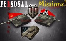World of Tanks Personal Missions! WOT Object 260, T55A, Concept (Not Bonus Code)
