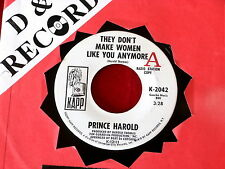 PRINCE HOROLD~ THEY DON'T MAKE WOMEN LIKE YOU ANYMORE~ PROMO~ VG++~ SOUL 45