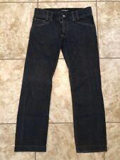 Vintage Dolce & Gabbana Logo Straight Denim Jeans Men's Size 48 Made In Italy