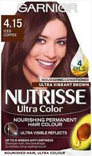 Garnier Nutrisse Iced Coffee , Brown Hair Dye Permanent, Grey Hair Coverage