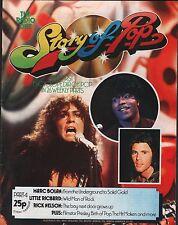 Story Of pop Part 4 1973 Marc Bolan, Little Richard EX 111915DBE