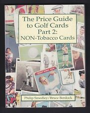 GOLF NON TOBACCO CARDS PRICE GUIDE BY PHILIP SMEDLEY & BRUCE BERDOCK