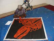 "ABORIGINAL ART PAINTING by NINGURA NAPURRULA (deceased) ""WOMEN's CEREMONY"", WIP"