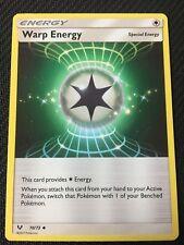 Pokemon : SM SHINING LEGENDS 4 X WARP ENERGY 70/73 UNCOMMON