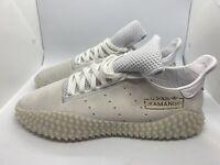 New Adidas Original Kamanda 01 Crystal White Gold Shoes DB 2778 Mens size 9.5