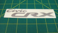 Civic CRX decal sticker graphics restoration replacement Accord Type R S Prelude