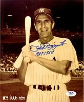 Phil Rizzuto autographed signed inscribed 8x10 photo New York Yankees PSA COA