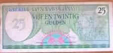 Suriname Surinam 25 Gulden 1982 Gebruikt/Used                  (1)