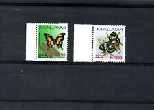 MALAWI,2018,BUTTERFLIES definitive,O/Pin Red new value, k900,K1280,2v, MNH,NEW!