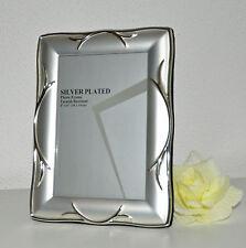 #10352 Bilderrahmen Rahmen Fotorahmen 10x15 Versilbert Silber Landhaus Hochzeit