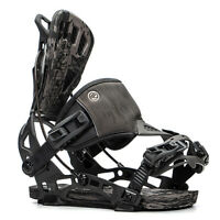 2020 FLOW NX2 GT Hybrid Snowboard Bindings NEW Large (7.5-11) NEW Charcoal
