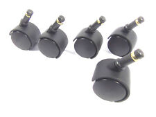 """2"""" Replacement Casters Wheels for Office Chair or Other Furniture Set of 5 New"""
