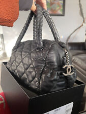 CHANEL HIDDEN CHAIN SATCHEL BAG