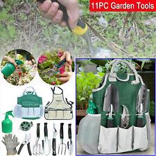 Garden Tools Set,11-Piece Gardening Kit With Hrust Resistant Aluminum Alloy Tool