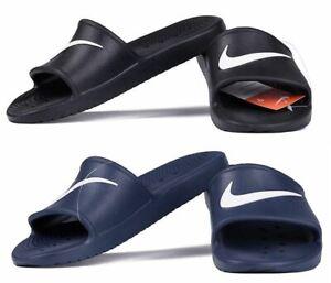 Nike Mens Sliders Slides Shoes Kawa Summer Shower Flip Flops Beach Pool Sandals
