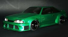 1/10 RC Car Body Shell FORD MUSTANG FOX Body HATCH BACK  200MM w/ Light Buckets