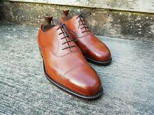 Cheaney Oxford Hombre Zapatos – café/bronceado – UK 6.5: Ivanhoe – usado una vez