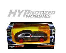 MAISTO EXOTICS 1:24 MERCEDES - AMG GT DIE-CAST GRAY 32505