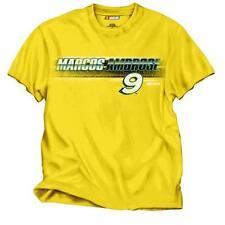 Marcos Ambrose Stanley Tools Men's  Cotton Yellow T-Shirt