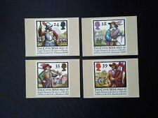 PHQ 144 1992 The Civil War Mint 4 Cards.