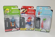 "Lot of 3 World of Nintendo 2"" Figures Red Pikmin, Bokoblin, & Mario, Series 2-5"