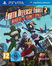 Ps vita Earth Defense Force 2 rangers from planet space sv NOUVEAU & OVP playstation
