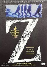 "Z (1969)LBX ""YVES MONTAND' (DVD) 2002 WELLSPRING RELEASE"