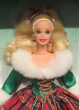 1995 Happy Holidays Gala Barbie doll NRFB Holiday Christmas Foreign edition
