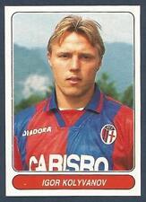 PANINI EUROPEAN FOOTBALL STARS 1997- #103-BOLOGNA & RUSSIA-IGOR KOLYVANOV