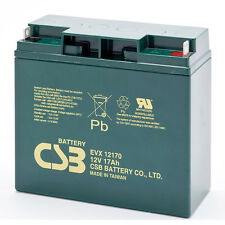 CSB EVX 12170 Cyclic Sealed Lead Acid Battery 12V 17Ah EVX12170 SLA