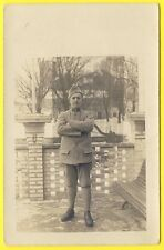 cpa CARTE PHOTO Militaire Soldat 102eme Régiment