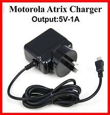 Motorola Atrix 2 MB865 Atrix MB860 AC Home Travel Fast Charger