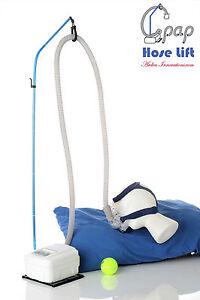 CPAP HOSE LIFT v5 -- Lighter, Longer Base, Easy Setup! CPAP/ BiPAP/ Sleep Apnea!