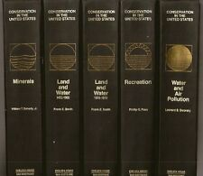 4000-pg Set 1971 CONSERVATION in the UNITED STATES Ecology History US Land Laws