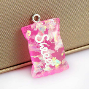20X Resin Sequin sweet candy Pendant Flatback decoration  jewelry accessory