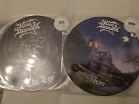 KING DIAMOND Picture Lps ''The Eye'' & ''Them'' Limited ! Heavy Metal Mercyful F