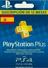 ✅ PSN PLUS PlayStation 12 meses/12 month envio inmediato/delivery soon NO CÓDIGO