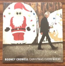 Rodney Crowell - Christmas Everywhere LP [Vinyl New] Clear Coal Splatter Holiday