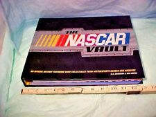 NASCAR VAULT BOOK OFFICIAL HISTORY RARE COLLECTIBLES ARCHIEVES MOTORSPORTS