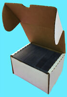 10 - 75 COUNT TOPLOADER CARDBOARD STORAGE BOXES Trading Sport Card Holder Case