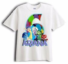 Inside Out - Personalized - Birthday T-Shirt Party Favor