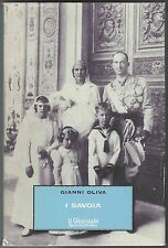 I Savoia, Gianni Oliva, 1998