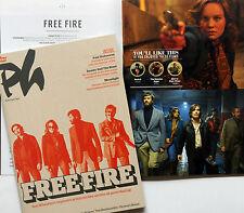 FREE FIRE BEN WHEATLEY CINEMA FILM MAGAZINE - BRIE LARSON SHARLTO COPLEY