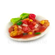 Puppenhaus Miniatur komplett gekochter Fisch mit Sweet And Sour Soße