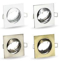 Tilted Downlight Recessed Spotlight Ceiling Fixtures GU10 Socket 230V K-4