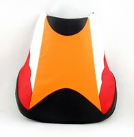 Front Rider Seat Leather Cover For Honda CBR 600 RR 03-04 T05