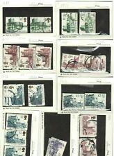 Gb Hi Face Lot of £1 plus Used Off Paper Stamps Scott #1993-5, #1611-3, #1410-12
